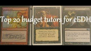 Top 20 budget tutors for cEDH