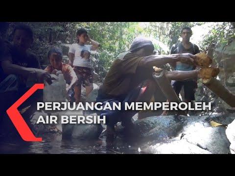 perjuangan warga wolomapa untuk memperoleh air bersih