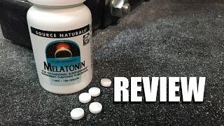 Melatonin Review | Source Naturals @EpicBeasts