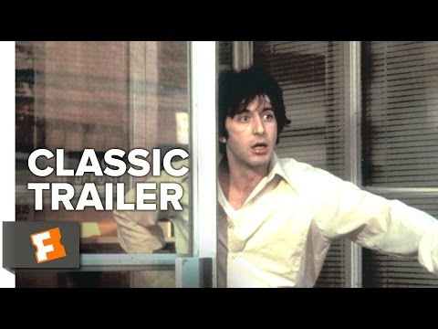 Dog Day Afternoon (1975)  Official Trailer - Al Pacino Movie (видео)
