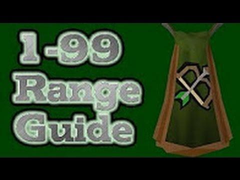 Video OSRS 1-99 Range Guide 2017