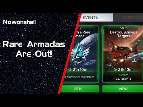 Star Trek - Fleet Command - Rare Armadas Are Out!