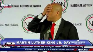 FNN: Cory Booker Speaks PASSIONATELY During MLK Day Speech at National Action Network (MUST WATCH)