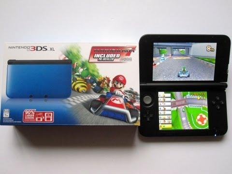 Nintendo 3DS XL Bundle Mario Kart 7