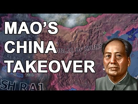 Mao's ONE CHINA TAKEOVER!!!! -PART 1 (HOI4 PRC SPEEDRUN) - wplus