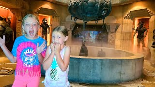 Tracking the Pond Monster to Secret Lair in Atlantis!!!