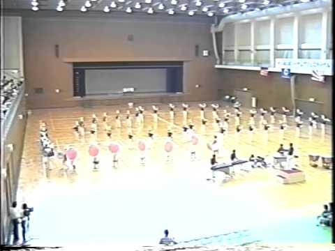 倉敷第一中学校吹奏楽部 「SOUND  OF MUSIC」(1990 岡山県大会)  part2