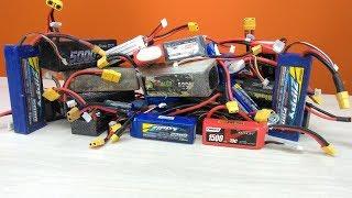 RC новичок №9 ... Аккумуляторы, какого производителя выбрать...