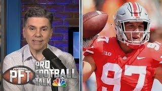 Will Nick Bosa have problem in NFL locker rooms? | Pro Football Talk | NBC Sports