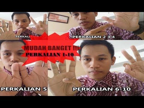 Video MATDAS (1) PERKALIAN 1 - 10 DENGAN BANTUAN JARI TANGAN