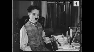 Rare outtakes of Charlie Chaplin in and out of costume