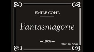 THIS IS THE FIRST ANIMATED CARTOON - Fantasmagorie - 1908 - Video Youtube