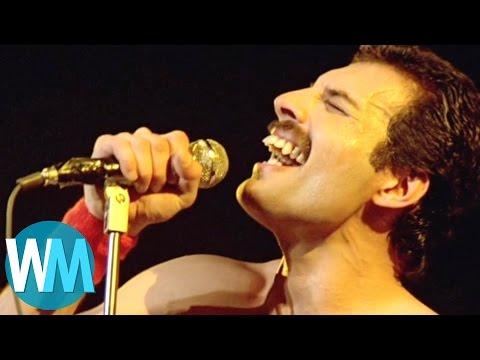 Top 10 Freddie Mercury Moments