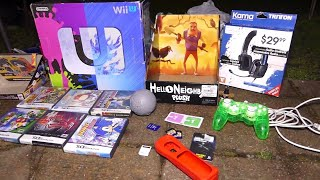AWESOME DUMPSTER HAUL!! Gamestop Dumpster Dive Night #460