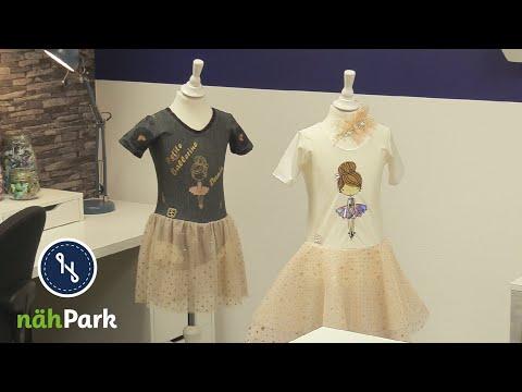 Ballettkleid für Kinder Petite No1 selber nähen - Nähanleitung