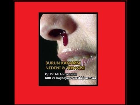 Burun kanaması nedenleri ve tedavisi Op.Dr.Ali Ahmet Şirin