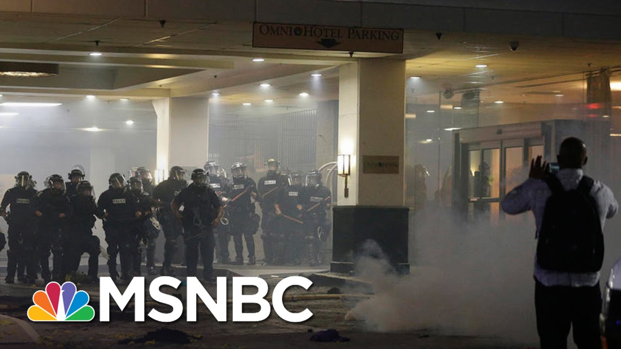 Keith Scott Shooting: Two Stories From Police And Family | MSNBC thumbnail
