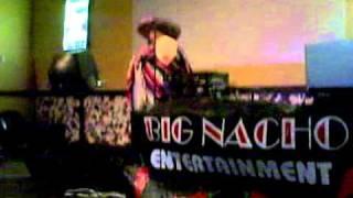 03 Untitled randall hansen singing mexican Joe for big nacho at the dunigans bar at the casino
