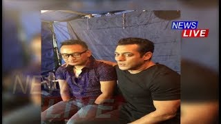 Salman Khan sings with Thupten Tsering