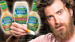 Weird Ranch Dressing Flavor Taste Test