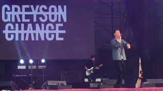 2018.4.15 daydream festival Shanghai Greyson Chance back on the wall
