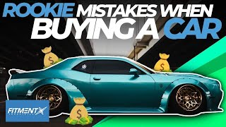Rookie Mistakes When Buying A Car