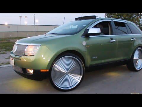 "Veltboy314 - Lincoln MKX On 24"" Rucci Forged Wheels - 2K17 Michigan vs. Ohio Car Show"