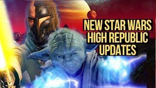 Star Wars 2022 High Republic Updates! The Old Republic Rumors Wrong??