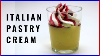 HOW TO MAKE ITALIAN PASTRY CREAM RECIPE (custard) By ItalianCakes USA