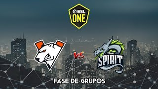 Virtus Pro vs Team Spirit - ESL One Los Angeles