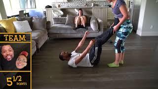 YOGA CHALLENGE WITH MY SISTER 😋💦