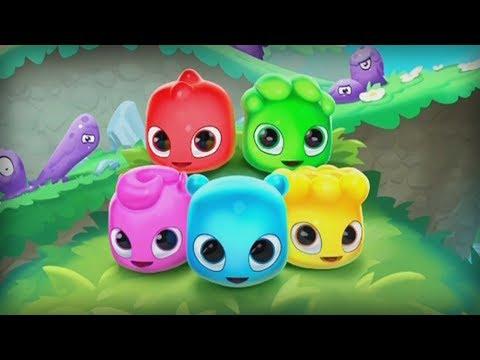 Jelly Splash: Fun Puzzle Game - wooga Level 1-5 Walkthrough