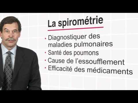 Qu'est-ce que la spirométrie? Un test respiratoire simple