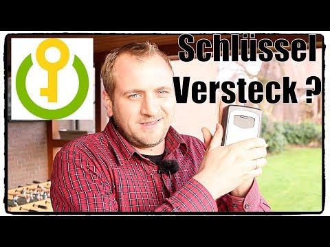 ❌ SCHLÜSSEL TRESOR / VERSTECK FÜR DEN AUßEN BEREICH TEST