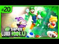 New Super Luigi U 20 A Aventura Com O Luigi Gameplay Wi