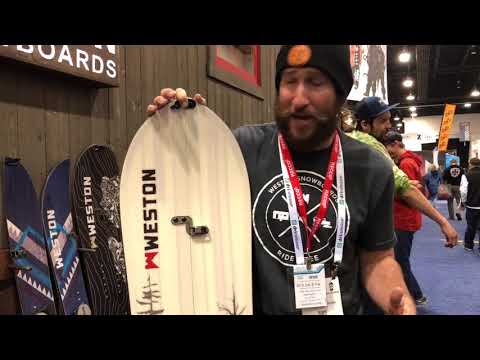 Weston Snowboard and Splitboard Preview at OR 2018