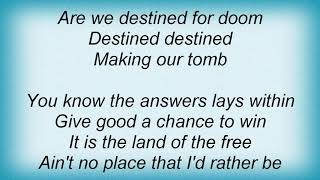 Anvil - Destined For Doom Lyrics