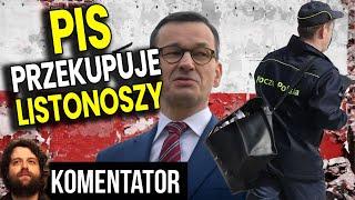 PIS Przekupuje Listonoszy by Zrealizowali Wybory 2020 Wbrew Polakom