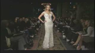 Claire Pettibone - Fall 2009 Couture Bridal Runway Show