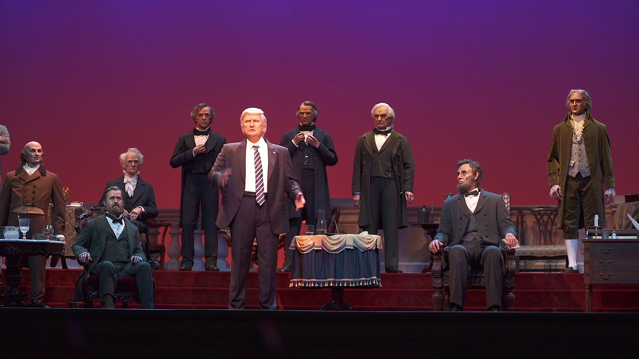 Donald Trump Audio-Animatronic