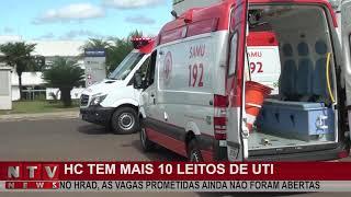 Secretaria de Saúde de Patos de Minas confirma a abertura de mais 10 leitos de UTI no Hospital de Campanha