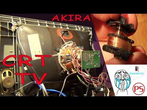 Телевизор  AKIRA опять на ремонте (вообще не включается)
