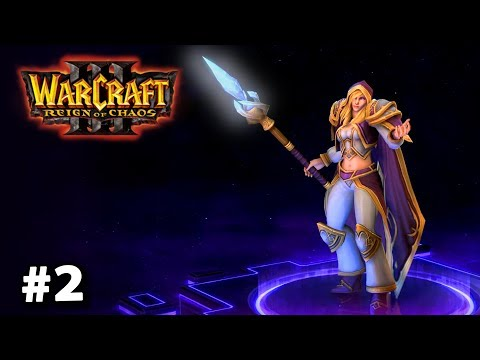 Jaina je drsňák :D Retro: Warcraft 3 - Kampaň za lidi #2