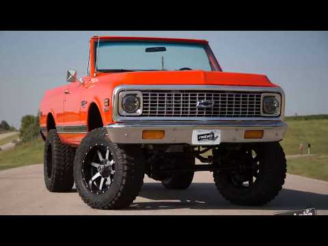 1972 K5 Blazer - 4x4 - LS1, Auto-Overdrive - Leather, Hugger Orange Stock #789