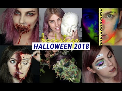 Zákulisí Halloweenských Tutorialů | 2018