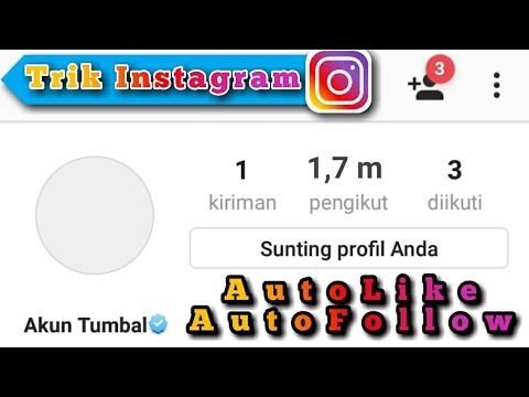 Video Cara Cepat Menjadi SELEBGRAM Dengan Menambah Followers & Like di Instagram Agar Cepat Verified