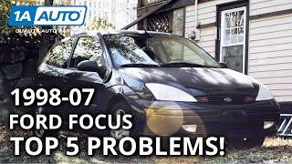 Top 5 Problems Ford Focus Hatchback 1st Gen 1998-2007