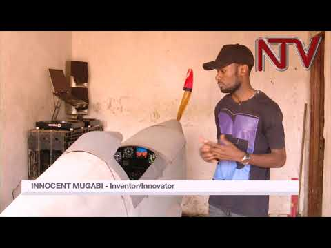 25 year old Innocent Mugabi hopes to fly his home-built aircraft