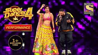 "Badshah और Shilpa ने किया ""Genda Phool"" पे Perform | Super Dancer 4 | सुपर डांसर 4"