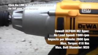 Dewalt DCF889M2 Şarjlı Somun Sıkma   10Youtube com